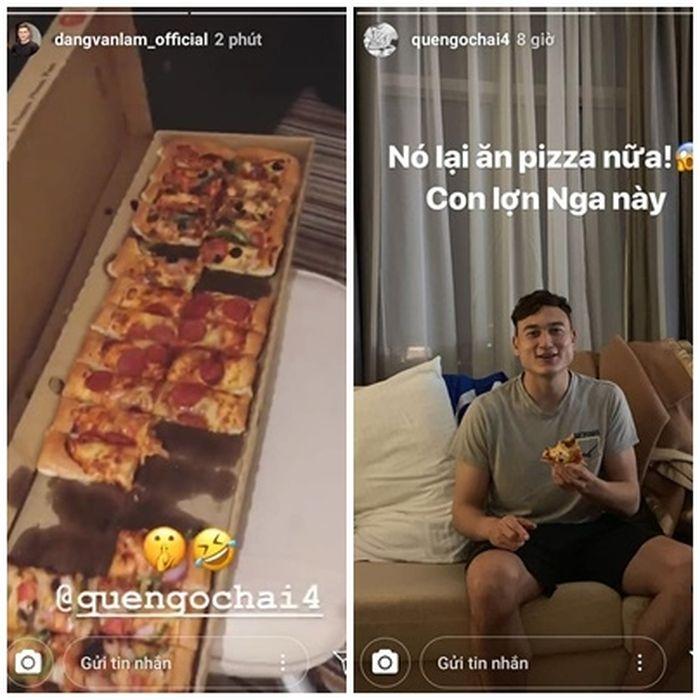 Văn Đức, Văn Hậu tậu hẳn 'siêu xe' giống nhau, Lâm tây bị 'mắng yêu' vì lén lút ăn pizza