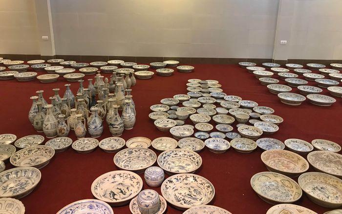 Во Вьетнамском музее выставили затонувший корабль