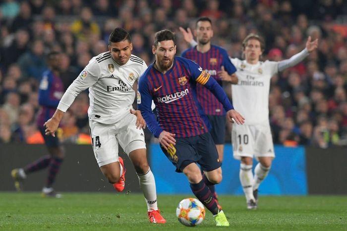 Messi vẫn chưa thể 'xé lưới' Real ở Cúp Nhà Vua
