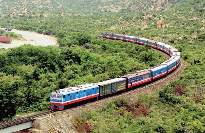 Tuyến đường sắt Vinh - Nha Trang được đầu tư 1800 tỷ đồng để nâng cấp tuyến đường