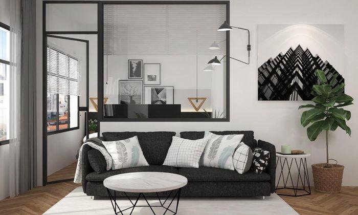 Phối màu đen - trắng cho nhà ở thế nào để đẹp và sang trọng nhất 1