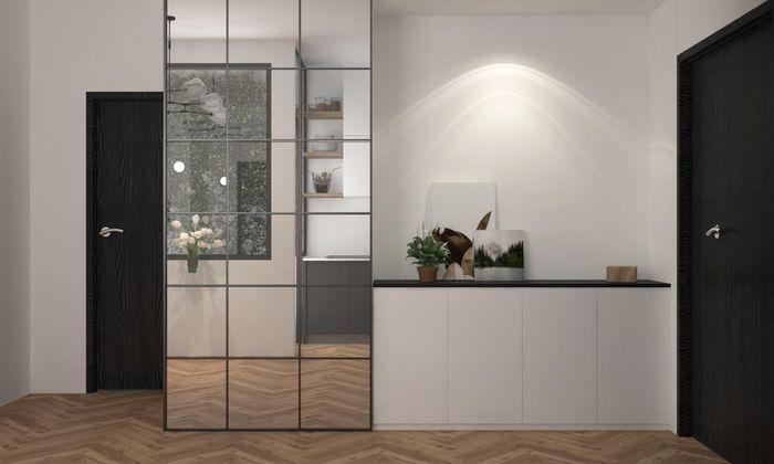 Phối màu đen - trắng cho nhà ở thế nào để đẹp và sang trọng nhất 4