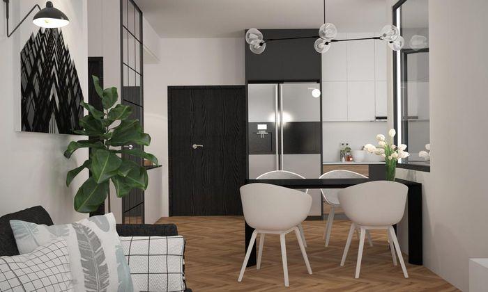 Phối màu đen - trắng cho nhà ở thế nào để đẹp và sang trọng nhất 3