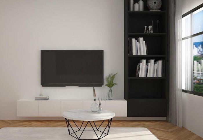 Phối màu đen - trắng cho nhà ở thế nào để đẹp và sang trọng nhất 2
