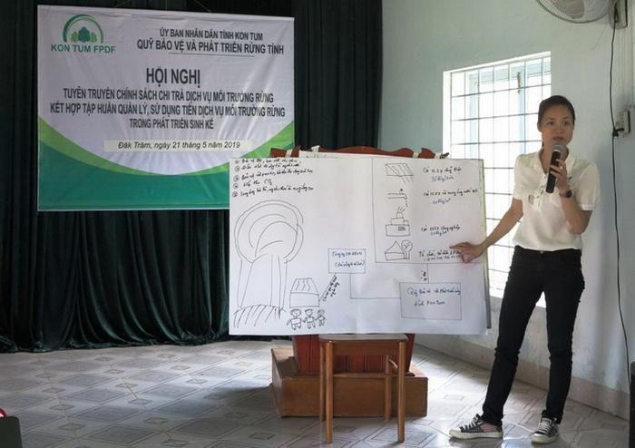 Báo TNMT: Kon Tum: Nâng cao nhận thức bảo vệ rừng nhờ vào chính sách chi trả dịch vụ môi trường rừng