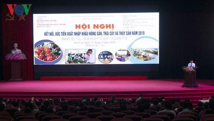 Báo VOV: Hơn 200 doanh nghiệp nông thủy sản bàn kế vào Trung Quốc