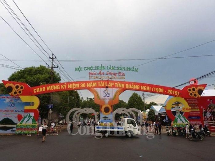 Báo Công Thương: Quảng Ngãi tổ chức Hội chợ triển lãm sản phẩm núi Ấn sông Trà năm 2019