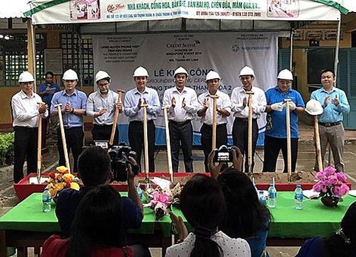 Báo Thời Đại: Tổ chức SCC cải tạo trường học tạm bợ tại xã nghèo Hậu Giang