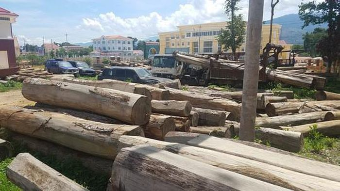Báo NLĐ: Lật phà chở xe gỗ, một người tử vong