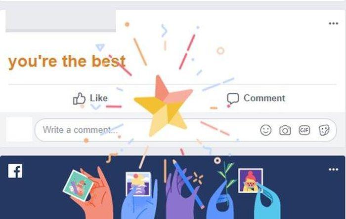 Tổng hợp các hiệu ứng chữ đặc biệt trên Facebook ảnh 1