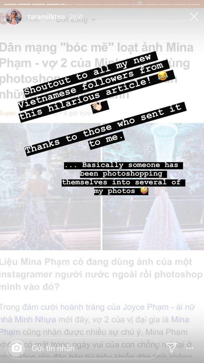 Vợ 2 đại gia Minh Nhựa nghi 'mượn' ảnh photoshop sống ảo, nữ blogger của Úc lên tiếng