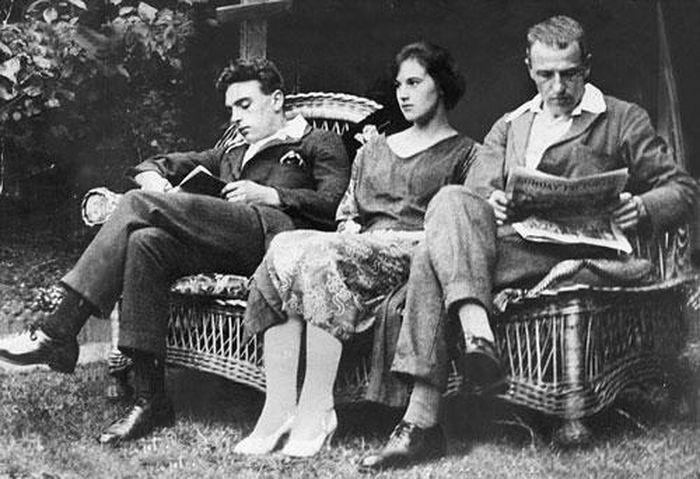 Bộ ba Frederick Bywaters, Edith Thompson và Percy Thompson.