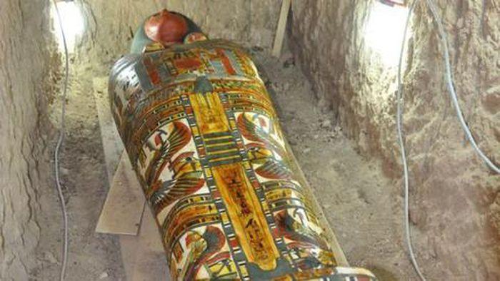 Kinh ngạc trước xác ướp 3.000 tuổi gần như còn nguyên vẹn
