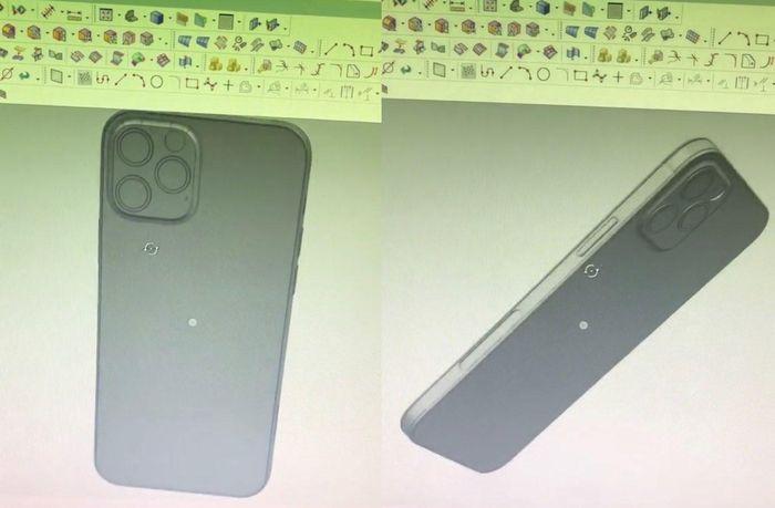 Lộ diện khuôn mẫu toàn bộ dòng iPhone 12, các cạnh phẳng tương tự iPad Pro mới