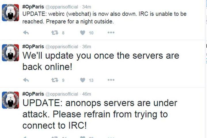 Hacker Việt bị nghi ngờ tấn công webchat của Anonymous - Báo