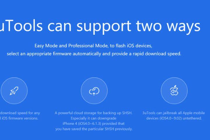 3uTools - công cụ thay thế iTools cho các thiết bị của Apple - Báo