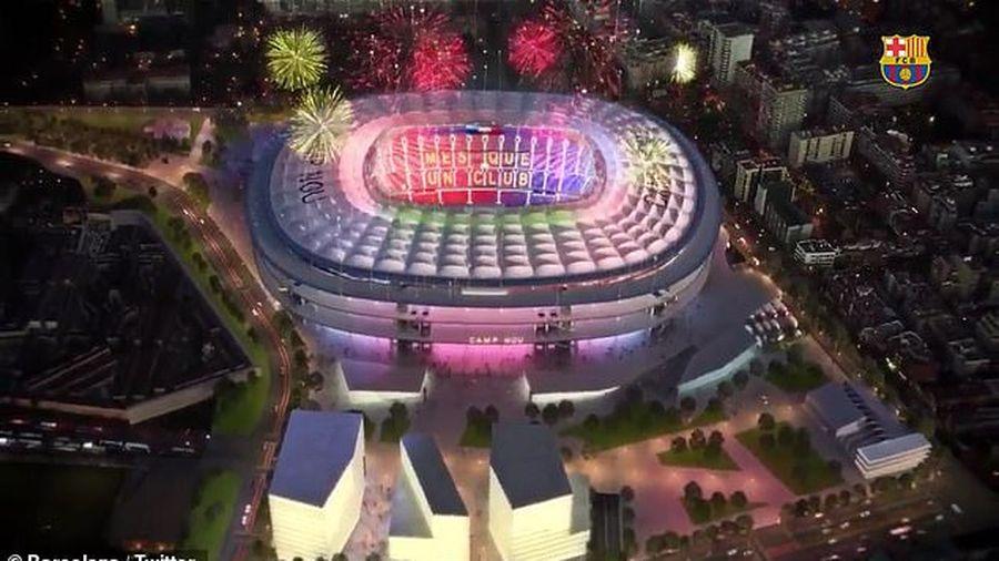 Barcelona chi đậm nâng cấp sân Nou Camp