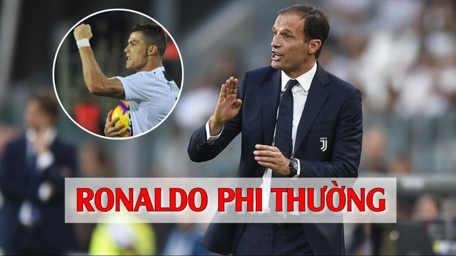 VIDEO: Xem lại 'siêu phẩm' của Ronaldo được HLV Juventus hết lời khen ngợi