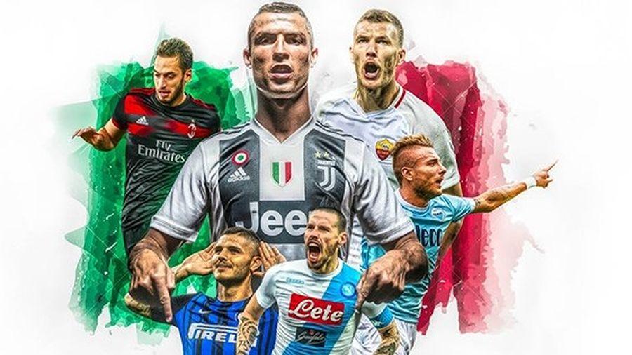 BXH Vua phá lưới Serie A: Cristiano Ronaldo vươn lên đứng thứ 2