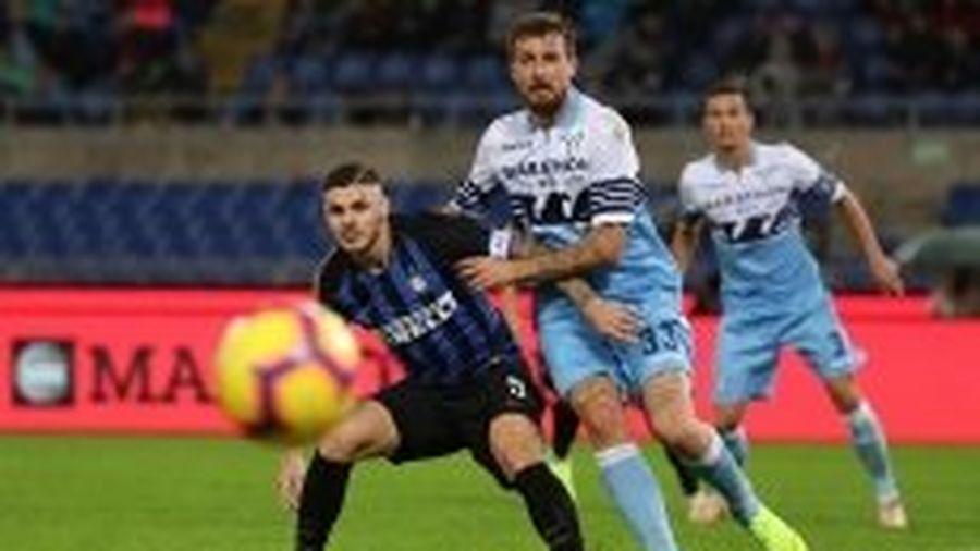 Đại thắng Lazio, Inter Milan vươn lên vị trí thứ hai Serie A