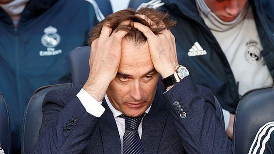 Chính thức: Real Madrid sa thải HLV Lopetegui