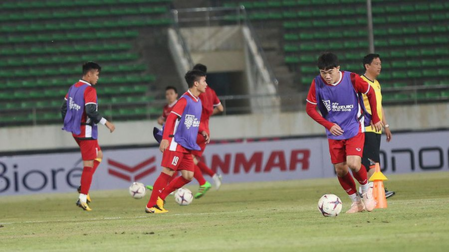 Đội hình đội tuyển Việt Nam đấu Lào: Xuân Trường đá chính