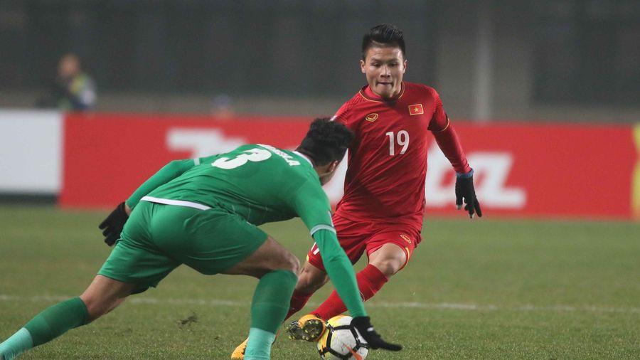 Clip: Mê mẩn với kỹ năng dứt điểm đẳng cấp của Nguyễn Quang Hải
