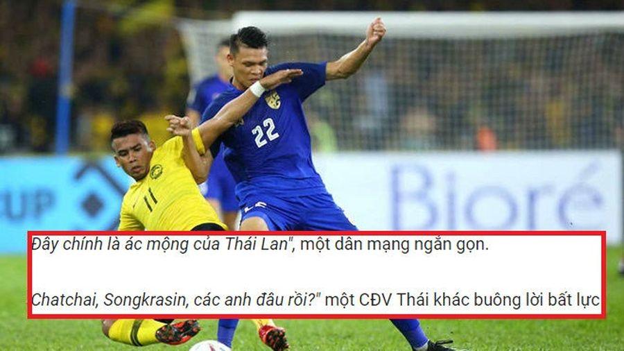 Cổ động viên Thái Lan chửi bới, bày tỏ sự thất vọng cao độ với các cầu thủ nước nhà sau trận gặp Malaysia
