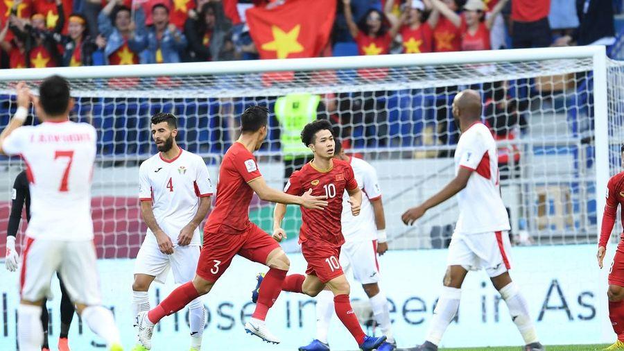 Đánh bại Jordan, tuyển Việt Nam tạo địa chấn lớn nhất Asian Cup 2019
