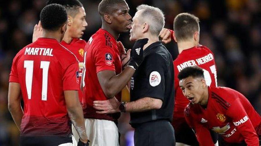 Sốc: Trọng tài chính tiếp tay 'loại' Man United ở FA Cup?