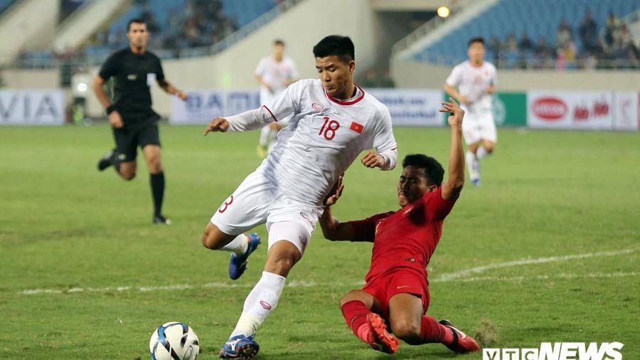 U23 Việt Nam thắng nghẹt thở U23 Indonesia