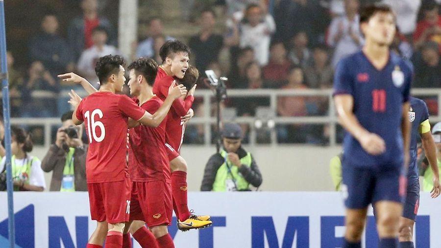 Tuyển Việt Nam dễ gặp 'khắc tinh' Thái Lan ở VL World Cup 2022