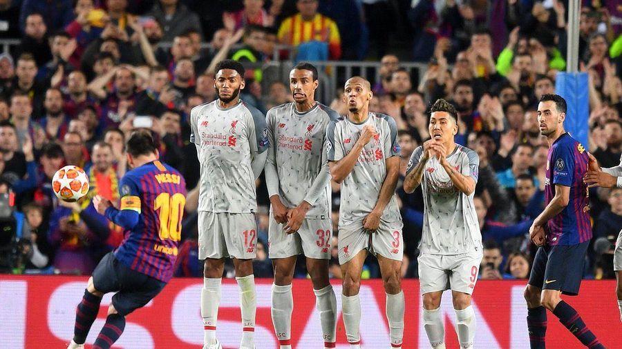 Messi dùng tiểu xảo trong siêu phẩm xé lưới Liverpool?