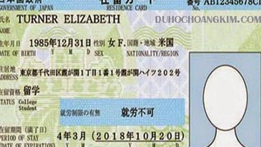Kết quả hình ảnh cho Gia tăng tình trạng làm giả thẻ lưu trú Nhật Bản cho lao động nước ngoài