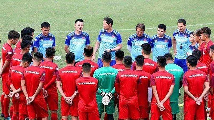 HLV Park Hang-Seo triệu tập 18 cầu thủ U-23 Việt Nam